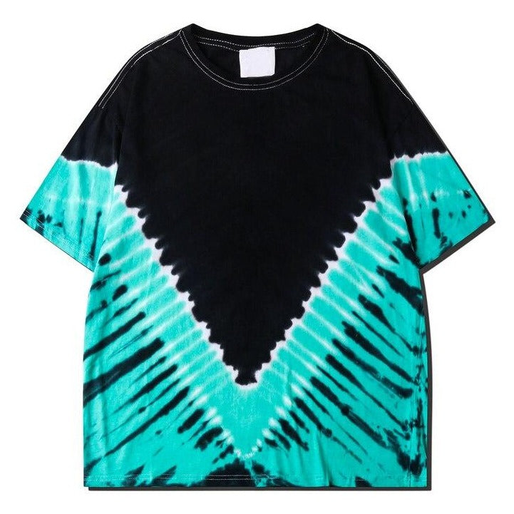 Dark Icon Tie Dyeing Tshirt Men Women Street Fashion Oversized Men's T-shirt Cotton Tee Shirts URB1™ Vêtements Streetwear URB1™ Vêtements Streetwear dark-icon-tie-dyeing-tshirt-men-wome