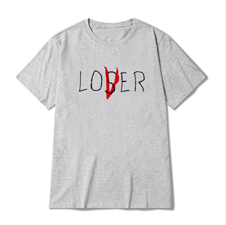 Pennywise Movie It Losers Club T Shirt Men Women Casual Cotton Short Sleeve Loser Lover It Inspired T-Shirt Tops Fast shipping URB1™ Vêtements Streetwear URB1™ Vêtements Streetwear penn