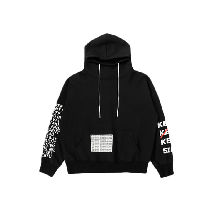 Oversize letter printed high neck hooded plus velvet sweater URB1™ Vêtements Streetwear URB1™ Vêtements Streetwear oversize-letter-printed-high-neck-hooded-plus-velvet-sweaterHOMME FEMM
