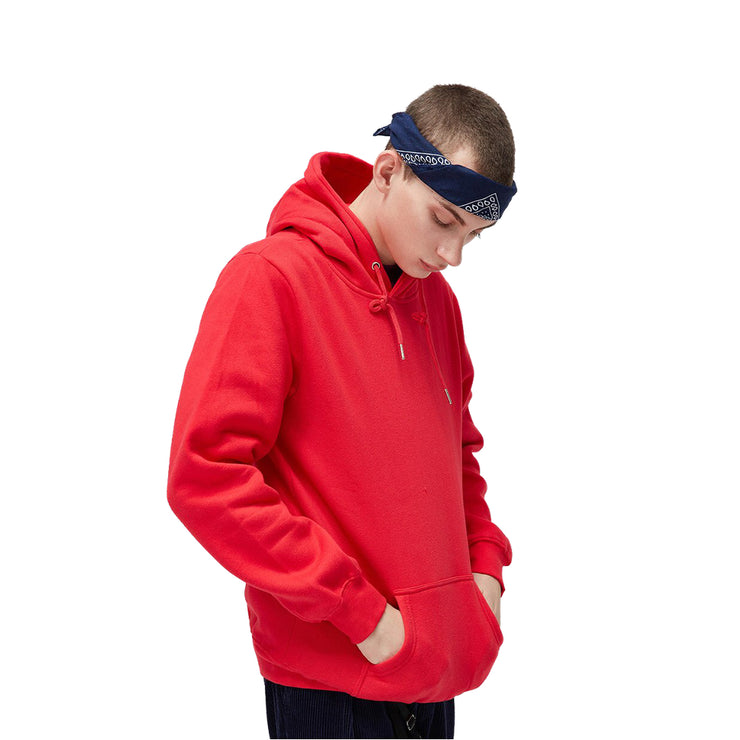"""L'ESSENTIEL"" Sweatshirt Hoodie à capuche Rouge - URB1™ - URB1™ Vêtements Streetwear mode boutique streetwear shop"