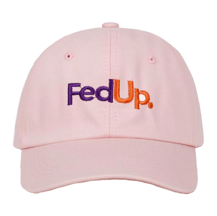 """FED UP"" Casquette baseball Streetwear Rose - URB1™ - URB1™ Vêtements Streetwear mode boutique streetwear shop"