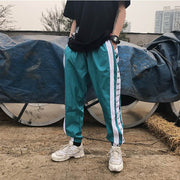 Wide Side Stripe Pants Jogger Men Harajuku Sweatpants Fashion Casual Trousers Hip Hop Pants Streetwear Track 2018 Summer Autumn URB1™ Vêtements Streetwear URB1™ Vêtements Streetwear wid