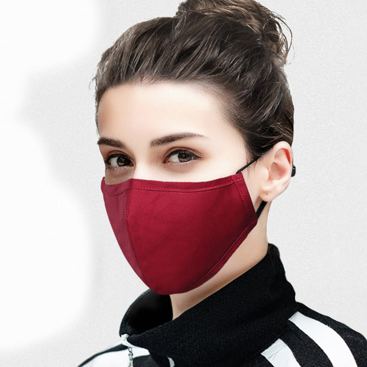 Aelfric Eden Fashion Casual Mask Dustproof Breathable Men Women 2020 Recyclable Anti-haze Dust Cotton Pm2.5 Black Mask URB1™ Vêtements Streetwear URB1™ Vêtements Streetwear aelfric-eden