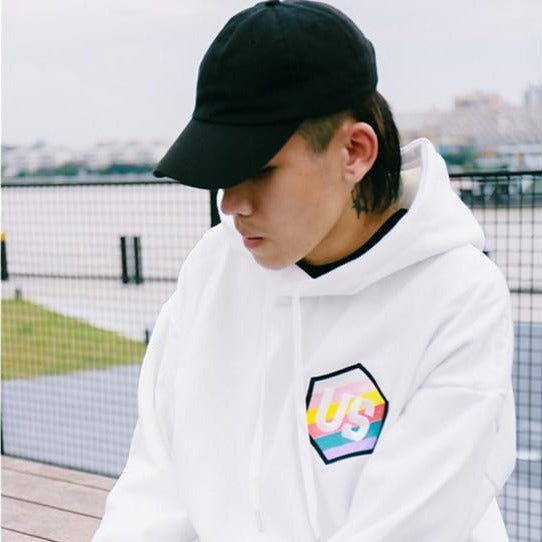 2019 Mens Hip Hop Hoodie Sweatshirt Embroidery Letter Japanese Harajuku Hoodies Pullover Streetwear Autumn Casual Hoodie Cotton - URB1™ Vêtements Streetwear mode boutique streetwear shop