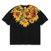 UNCLEDONJM Sunflower Men t shirts Harajuku Funny Print Tshirt Men Hip Hop Cotton Streetwear Tee Shirt Homme Tops tees jz-1152 - URB1™ Vêtements Streetwear mode boutique streetwear shop