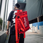 """SUPERDUANG"" Sac à Dos Streetwear Rouge - URB1™ - URB1™ Vêtements Streetwear mode boutique streetwear shop"
