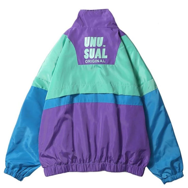 """UNUSUAL"" Coupe Vent Retro Streetwear - URB1™ - URB1™ Vêtements Streetwear mode boutique streetwear shop"