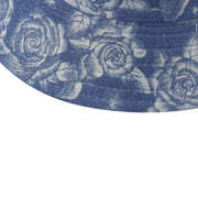 2020 Women Blue Rose Flower Print Cute Bucket Hat Reversible Fisherman Hat Panama Bucket Cap Outdoor Casual Sun Hat Bob Gorros URB1™ Vêtements Streetwear URB1™ Vêtements Streetwear 2020
