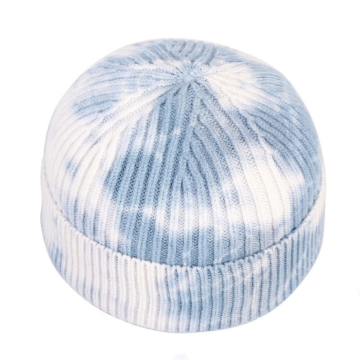 Unisex Beanie Men Short Hat Women 2020 Winter Fisherman Beanies For Ladies tie dye Print Autumn Hip Hop Knitted Cap Skullcap URB1™ Vêtements Streetwear URB1™ Vêtements Streetwear unisex
