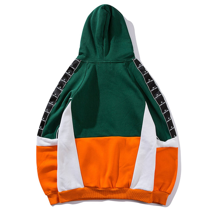 Aelfric Eden Color Clock Casual Mens Hooded Sweatshirts 2019 Harajuku Streetwear Patchwork Hoodies Male Hip Hop Cotton Pullover URB1™ Vêtements Streetwear URB1™ Vêtements Streetwear ael