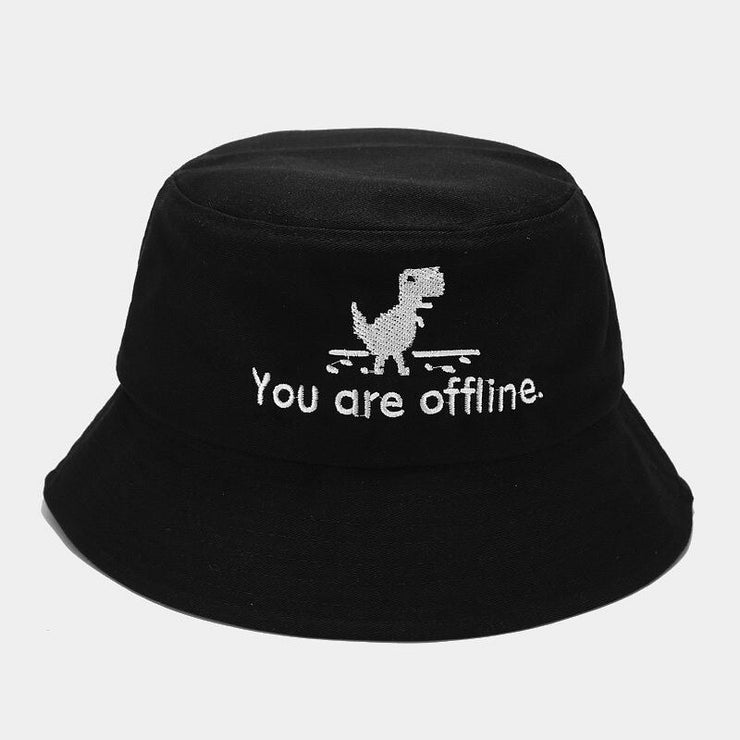 2020 Creative Error Page Bucket Hat Unisex Foldable Dinosaur Bob Cap Hip Hop Gorros Men Summer Caps Panama Fishing Bucket Hat URB1™ Vêtements Streetwear URB1™ Vêtements Streetwear 2020-