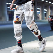 Una Reta Streetwear Joggers Men New Print Loose Pants Men Hip Hop Cargo Pants Elastic Waist Harajuku Couple Pants URB1™ Vêtements Streetwear URB1™ Vêtements Streetwear una-reta-streetwe