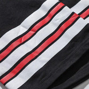 DARK ICON Number 67 Stripe on Sleeve Oversized T Shirt Men 2019 Summer Round Neck Loose Style Men's T-shirt Cotton Tee Shirts URB1™ Vêtements Streetwear URB1™ Vêtements Streetwear dark-
