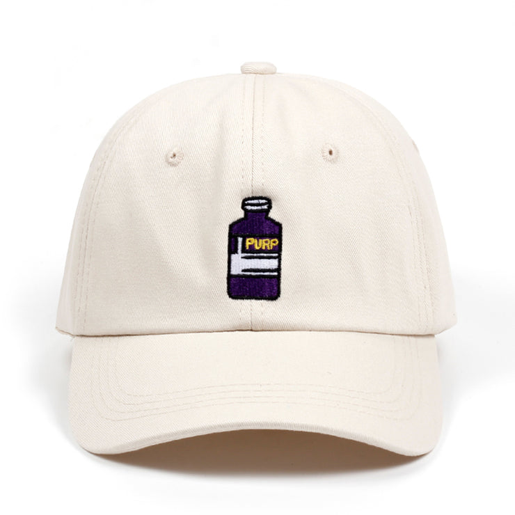 2018 new brand baseball cap Violet Adult Bottle Embroidered Dad Hat men women Hip hop fashion snapback cap hats wholesale - URB1™ Vêtements Streetwear mode boutique streetwear shop