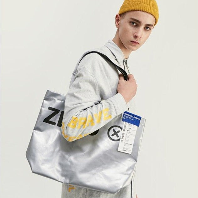 INFLATION 2019 Men Handbag Fashion Travel Bags Street Hip Hop Bag Hand Totes For Men And Women New Fashion Couple Bag 219AI2019 URB1-vetements-streetwear URB1-vetements-streetwear inflation-2