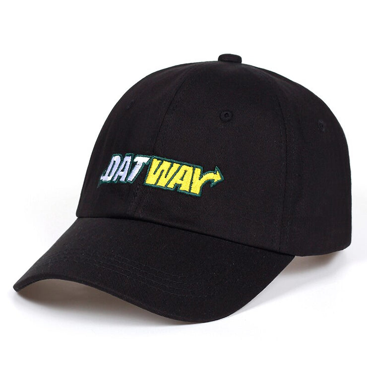 """DAT WAY"" Casquette Streetwear Noir - URB1™ - URB1™ Vêtements Streetwear mode boutique streetwear shop"