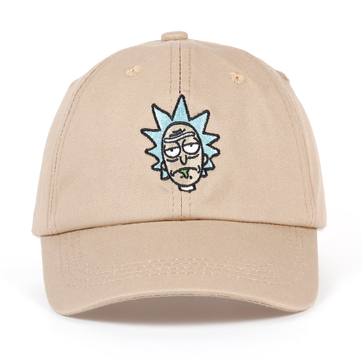 Rick and Morty New Khaki Dad Hat Crazy Rick Baseball Cap American Anime Cotton Embroidery Snapback Anime lovers Cap Men Women URB1™ Vêtements Streetwear URB1™ Vêtements Streetwear rick-