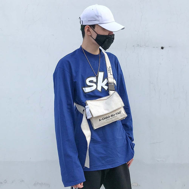 Sleeper #401 2018 Unisex Vintage Canvas Bag Shoulder Bag Messenger Bag Chest Bags Cross body simple design hot saleFree Shipping URB1™ Vêtements Streetwear URB1™ Vêtements Streetwear sl