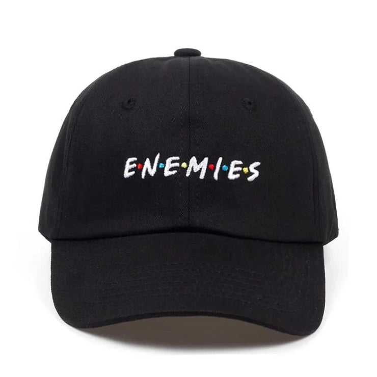 """ENEMIES"" Casquette Baseball Streetwear - URB1™ - URB1™ Vêtements Streetwear mode boutique streetwear shop"