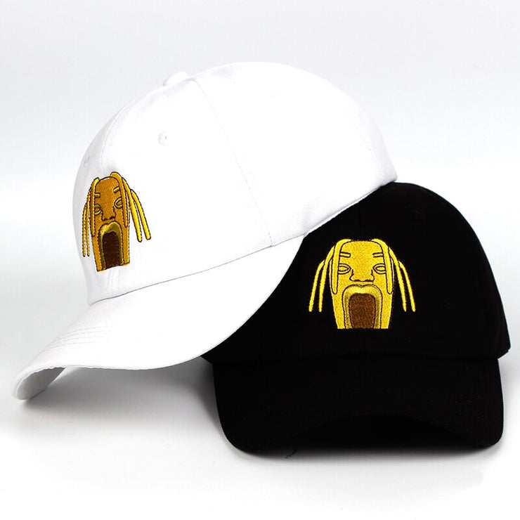 """TRAVI$ SCOTT"" Casquette Streetwear Blanc - URB1™ - URB1™ Vêtements Streetwear mode boutique streetwear shop"