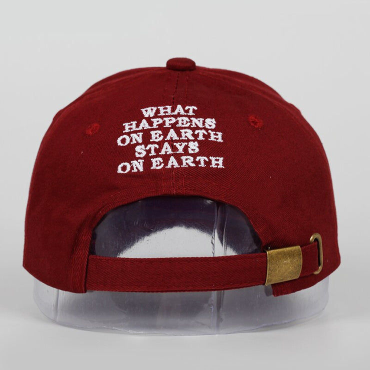 Unisex Spring summer DAMN Hats Embroidered Earth Dad Hat Hip Hop cap Kendrick lamar Rapper Snapback hats Baseball Cap wholesale URB1-vetements-streetwear URB1-vetements-streetwear unisex-spri