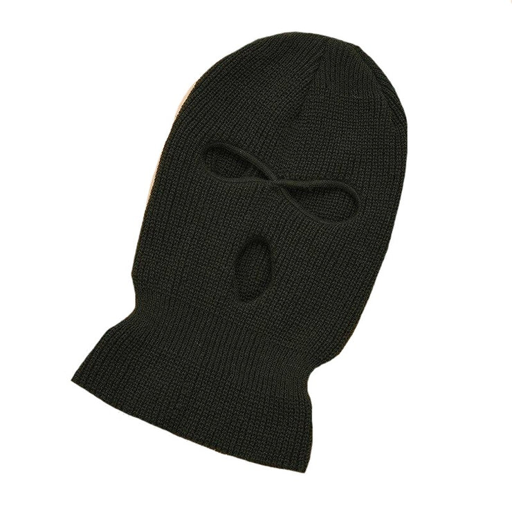 Full Face Cover Mask Three 3 Hole Balaclava Knit Hat Army Tactical CS Winter Ski Cycling Mask Beanie Hat Scarf Warm Face Masks URB1™ Vêtements Streetwear URB1™ Vêtements Streetwear full