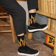 Harajuku Men's Humor Words Printing Socks Ulzzang Hip Hop Street Skateboard Unisex Crew Lovers' Happy Sokkem Dropship 2Pcs=1Pair URB1™ Vêtements Streetwear URB1™ Vêtements Streetwear ha