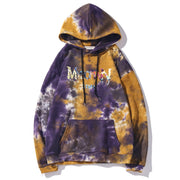 Aolamegs Hoodies Men Gradient Watercolor Tie Dye Hooded Pullover Harajuku High Street Style 4 Color Optional Couple Sweatshirt URB1™ Vêtements Streetwear URB1™ Vêtements Streetwear aola