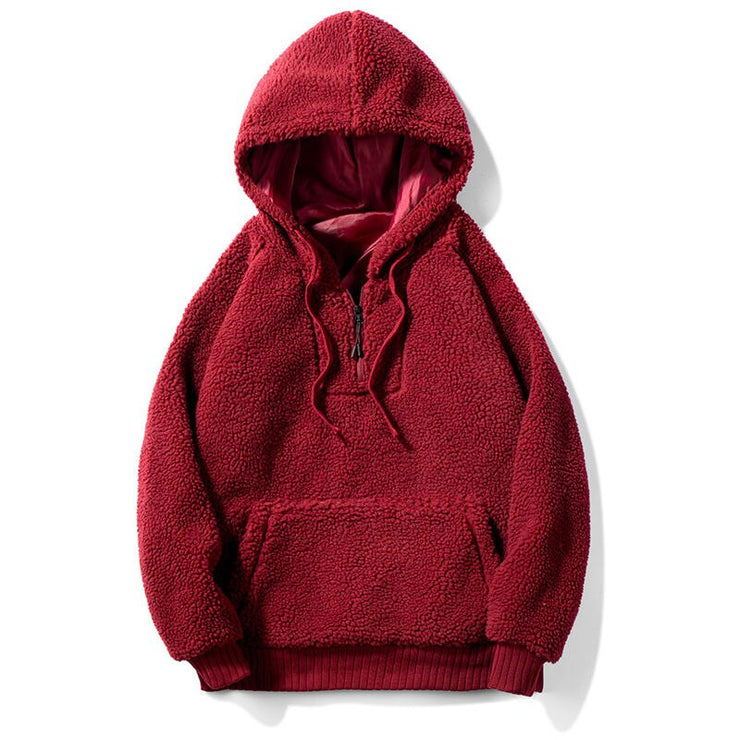 """SHEEP"" Sweatshirt Hoodie à capuche Rouge - URB1™ - URB1™ Vêtements Streetwear mode boutique streetwear shop"