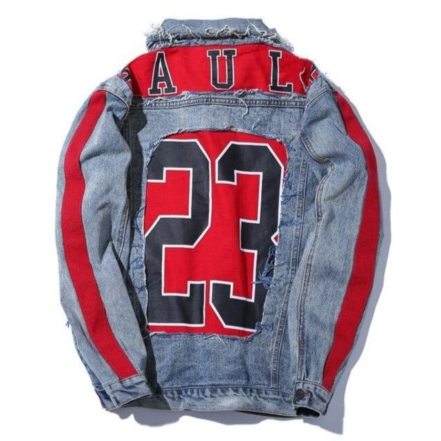 """BAUL"" Veste en jean denim - URB1™ - URB1™ Vêtements Streetwear mode boutique streetwear shop"