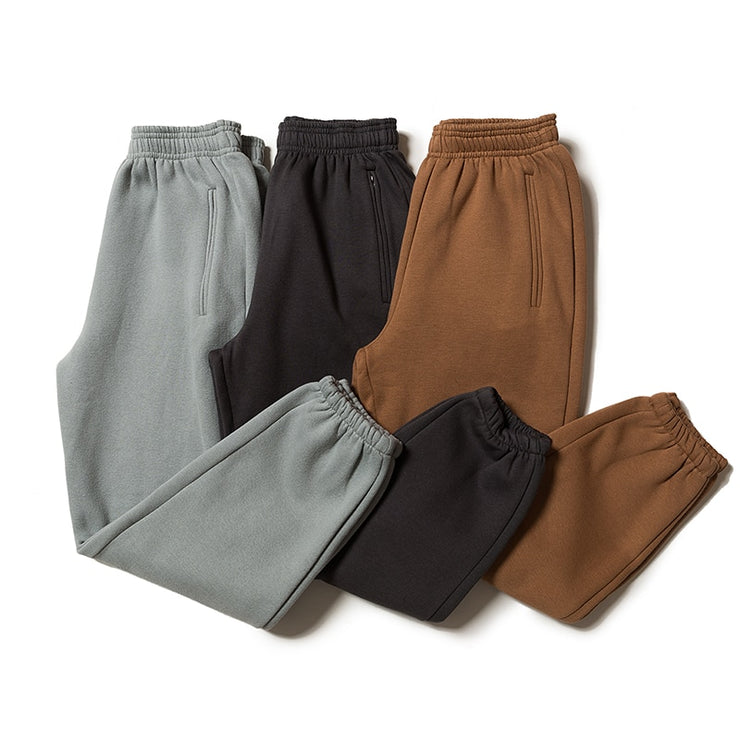 Kanye West Sweatpants Solid Colors Season 6 Pants High Quality Plus Velvet Trousers Kardashian Pants URB1™ Vêtements Streetwear URB1™ Vêtements Streetwear kanye-west-sweatpants-solid-co