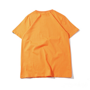 """SERIOUSLY"" T-shirt Orange Oversize-streetwear - URB1™"