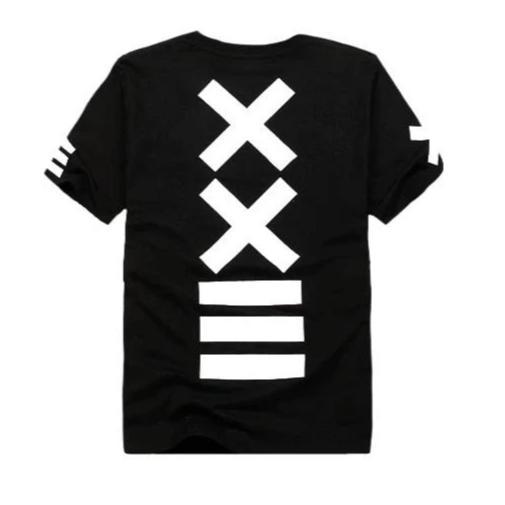 """XX"" T-shirt Oversize Long Imprimé Streetwear - URB1™ - URB1™ Vêtements Streetwear mode boutique streetwear shop"