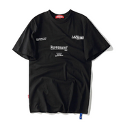 """PEPPERMINT"" T-shirt Oversize Noir Streetwear - URB1™ - URB1™ Vêtements Streetwear mode boutique streetwear shop"