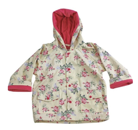 POWELL CRAFT Flower Rain Coat