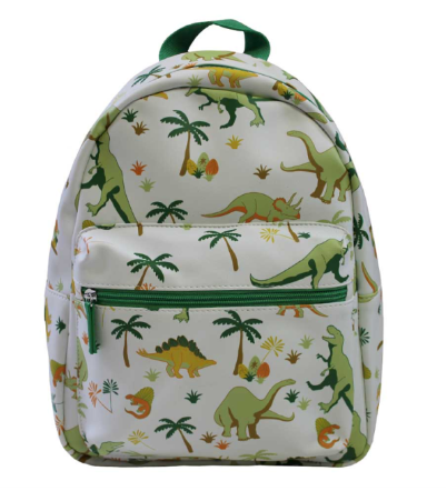 POWELL CRAFT DINOSAUR PRINT BACK PACK