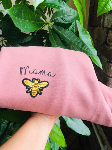 Dusty Pink Bee Mama Jumper