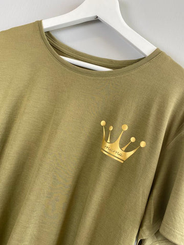 Mama Khaki Crown