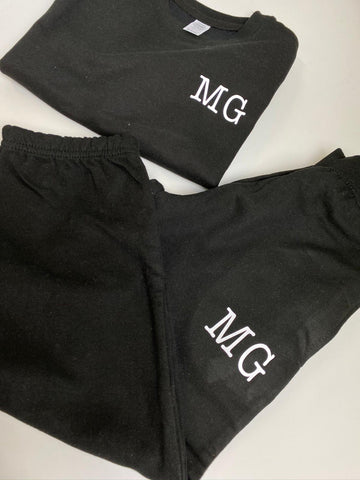 Monochrome Initial Tracksuit