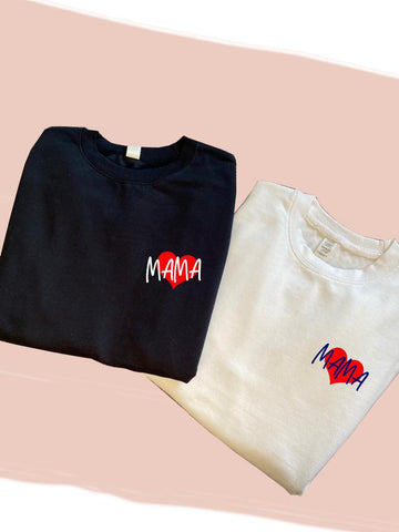 2021 Red Mama Heart T-Shirt
