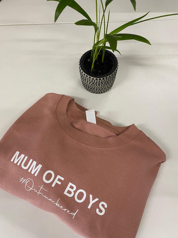 Mum of Boys/Girls Jumper