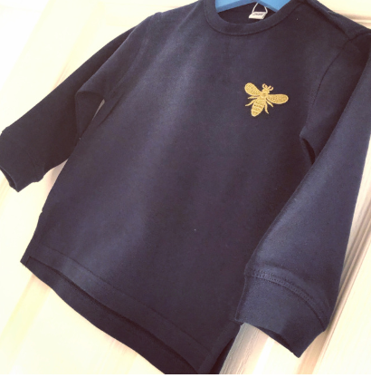 Embroidered Bee Jumper