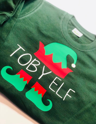 Personalised Elf Jumper