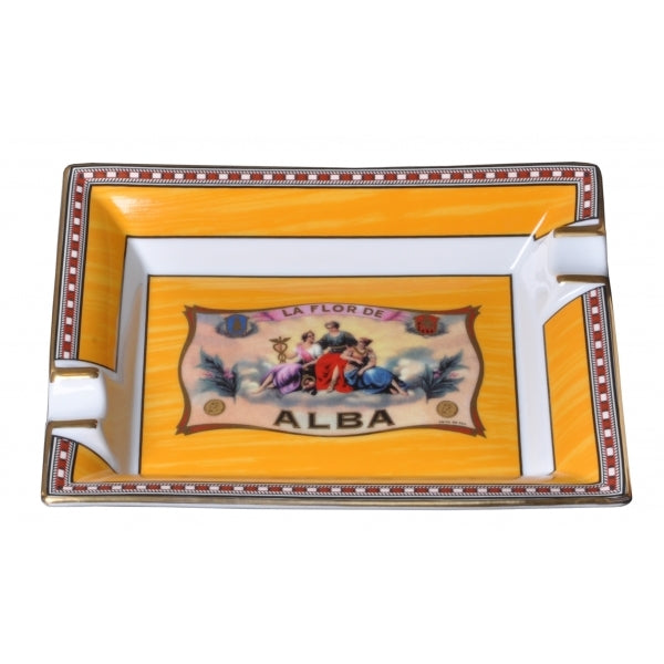 Ashtray - Flor de Alba - Yellow