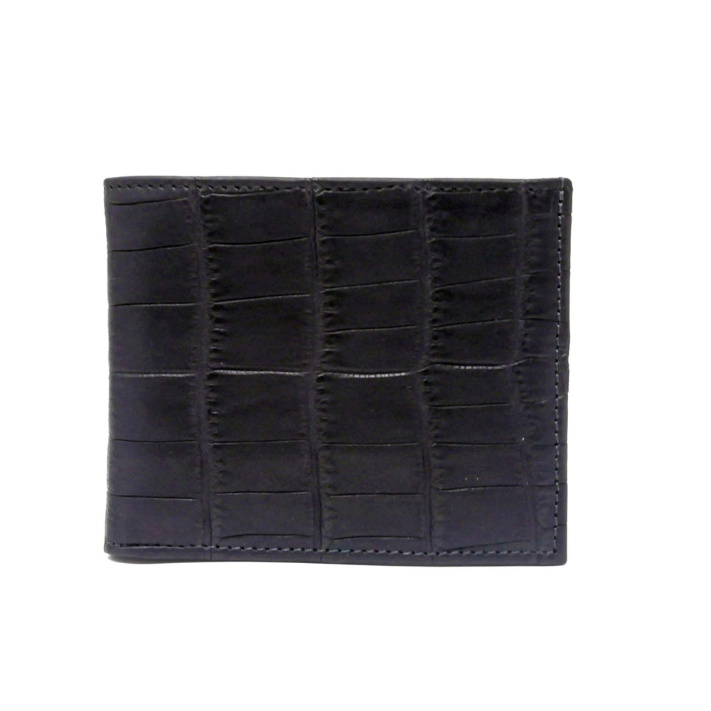 Wallet - Real Crocodile - Black