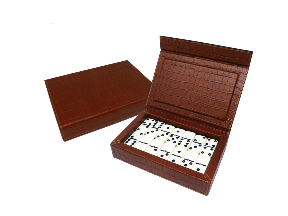 Domino Holder - Leather