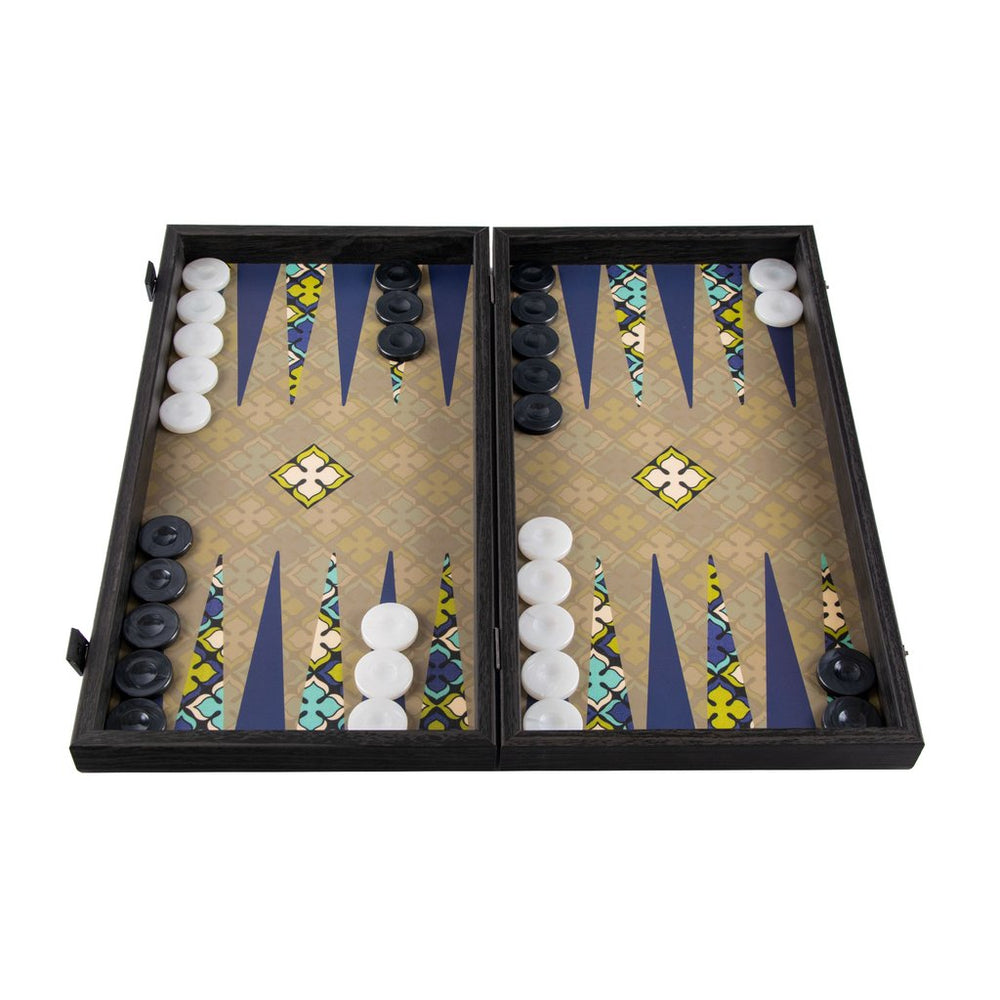 Backgammon - Geometric Maioliche