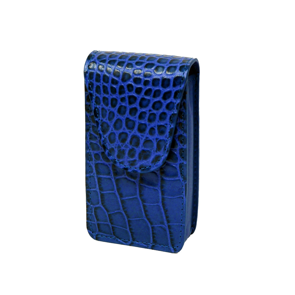 Cigarette Case - Bluette Crocodile