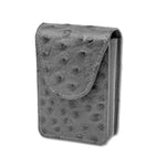 Cigarette Case - Grey Ostrich