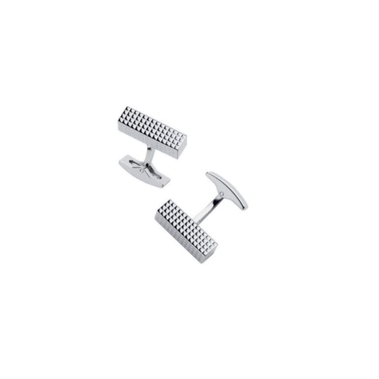 Cufflinks - Square Diamonds Tips